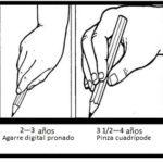 agarrar el lápiz