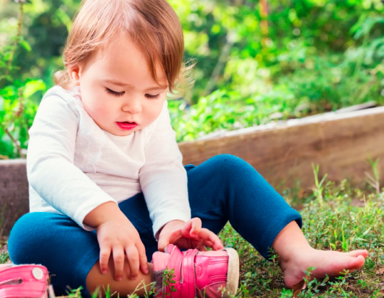 desarrollo de la autonomía niños